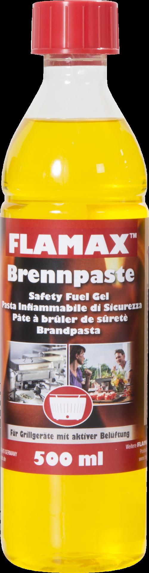 brennpaste 0 5l flamax. Black Bedroom Furniture Sets. Home Design Ideas